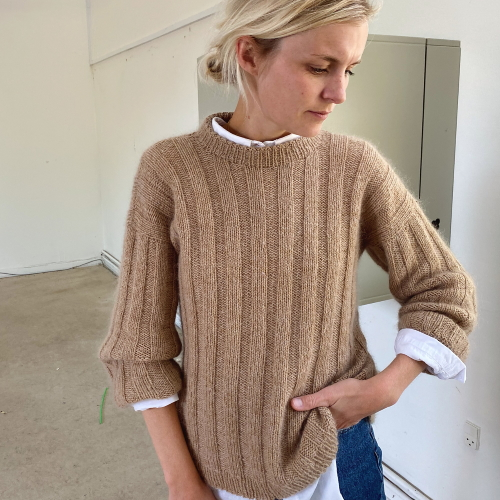 Vertical Stipes Sweater