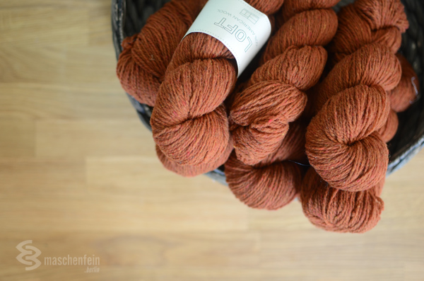 Brooklyn Tweed stricken Garne