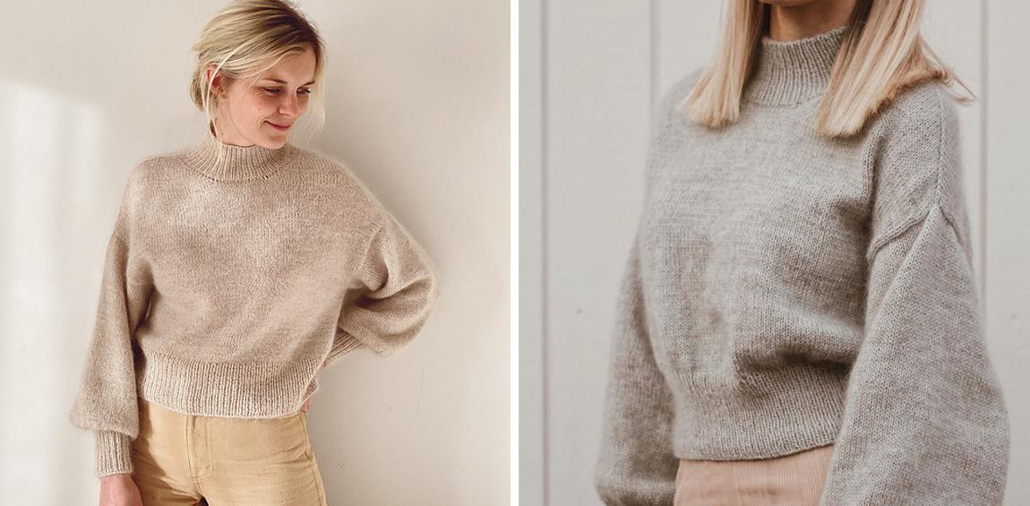 Ballon Sweater von Petite Knit stricken