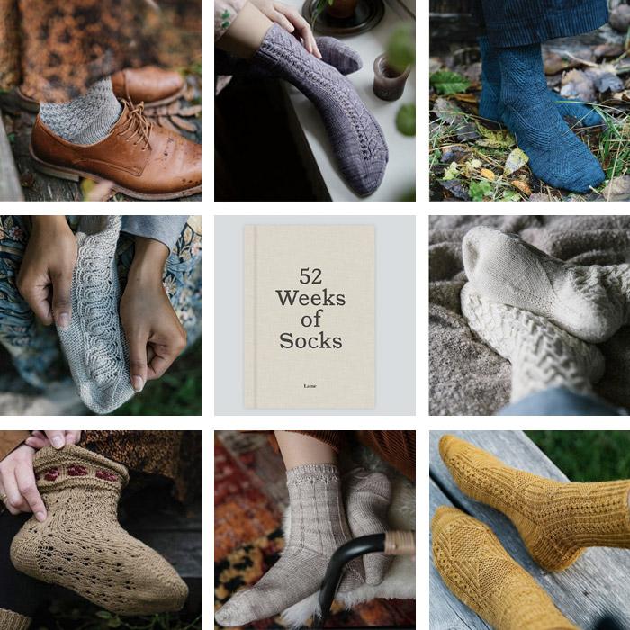 Samstagskaffee Netzgeflüster 2020 Laine 52 Socken
