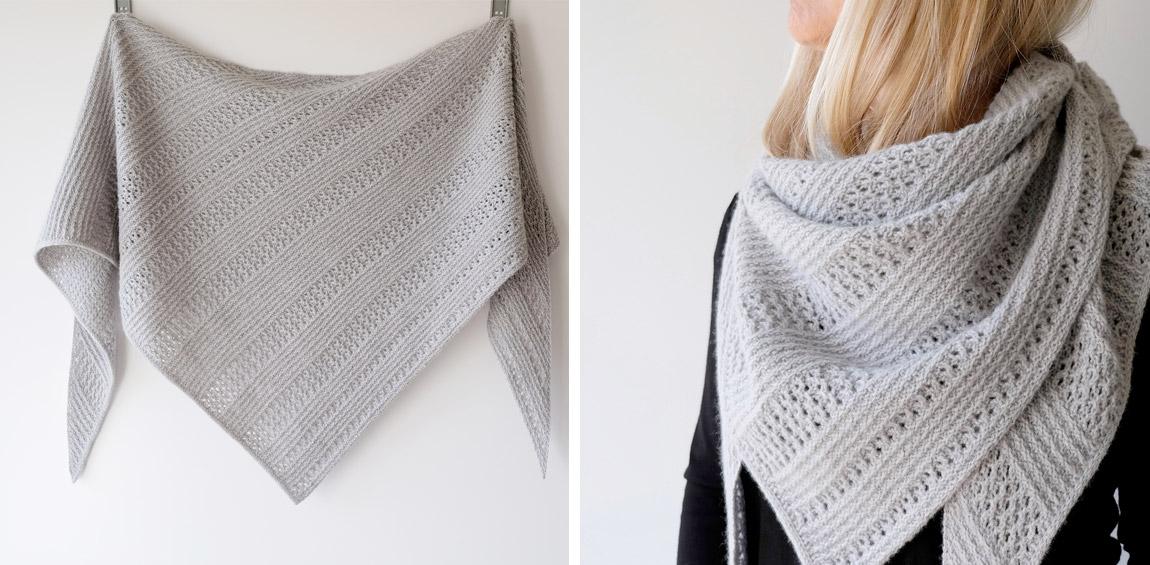 Saltum shawl von Gretha Mensen