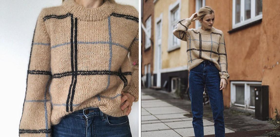 Scotty Sweater PetiteKnit 173 Mascheinfein
