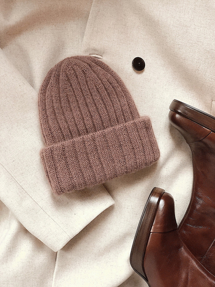 the classic ribbed beanie