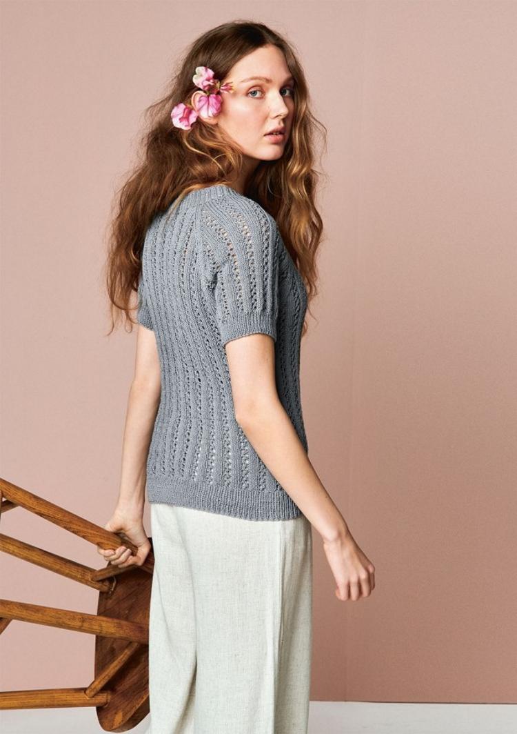 Lavendel T-Skjorte