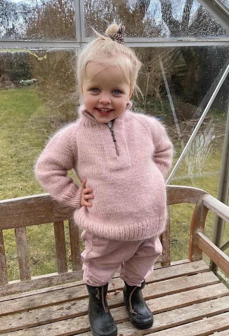 Zipper Sweater Junior